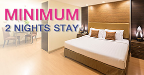 Aspen Suites Bangkok, Serviced Apartment Hotel in Sukhumvit 2, 4 Star Hotel Near Nana BTS, Promotion and Offer Banner for Long and Short Stay, MINIMUM 2 NIGHTS STAY