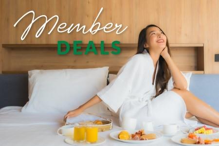 Member Deals - Room with breakfast