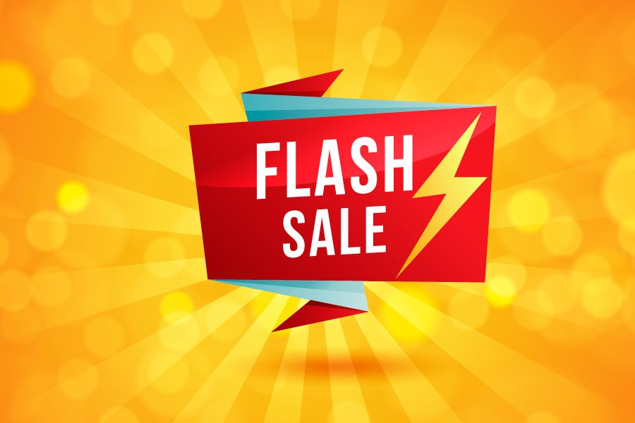 Flash Sale 20% OFF!