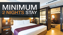 MINIMUM 2 NIGHTS STAY