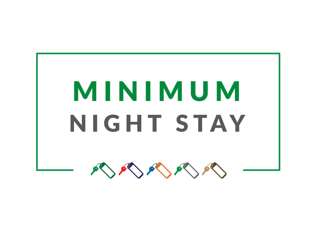 MINIMUM 2 NIGHTS STAY 10% OFF!