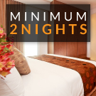 MINIMUM 2 NIGHTS