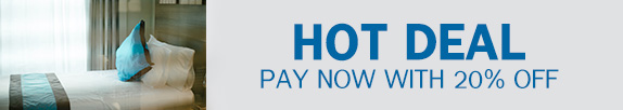 HOT DEAL-PAY NOW TO SAVE 20%