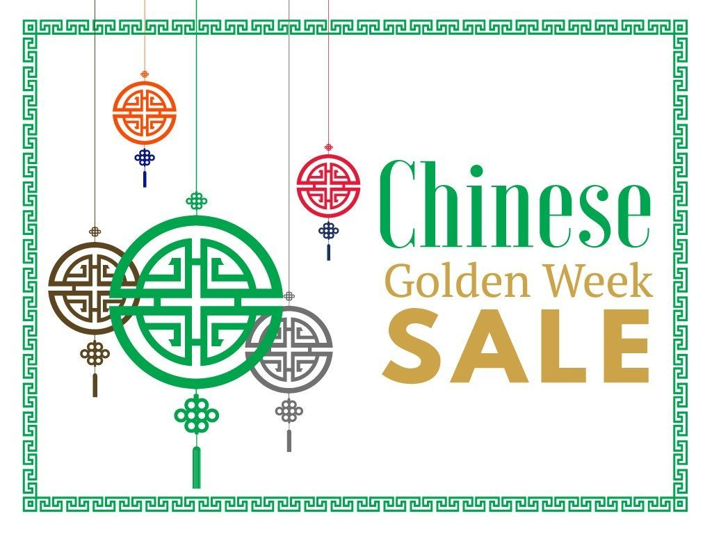 Chinese Golden Week Sale