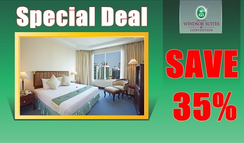 Special deal minimum 2 nights