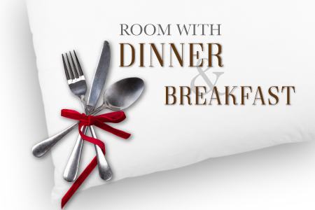 Dinner, Breakfast & Bubbly Deal