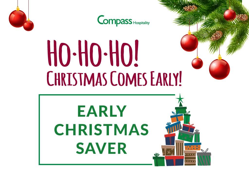 Early Christmas Saver