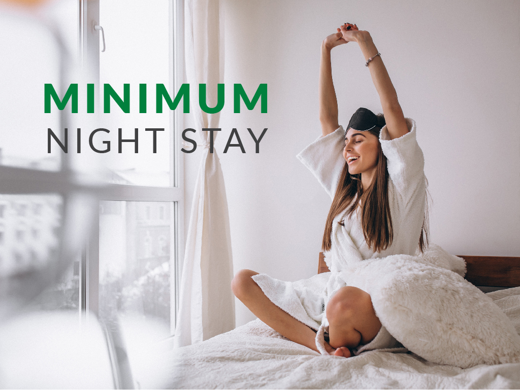 Min 3 Nights Stay