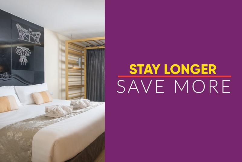 Stay Longer Save More