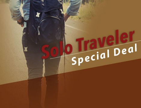 SOLO TRAVELER SPECIAL DEAL