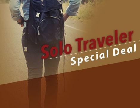 SOLO TRAVELER SPECIAL DEAL
