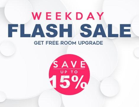 Weekday Flash Sale